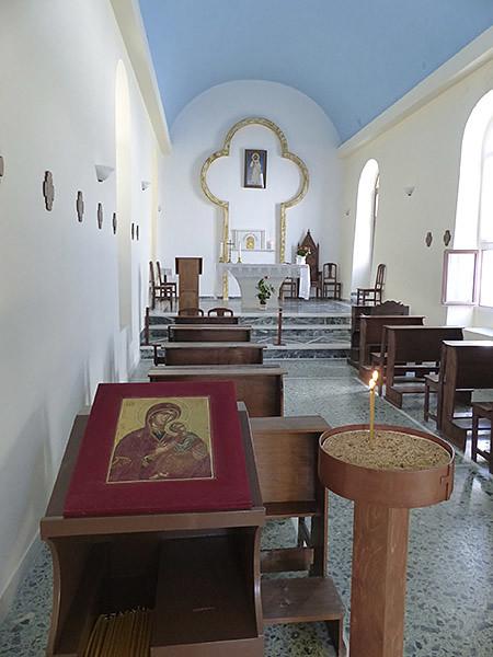 chapelle du couvent des Ursulines, Naxos
