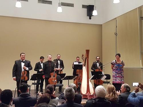 Música mexicana contemporánea para arpa y guitarra en Casablanca y Rabat