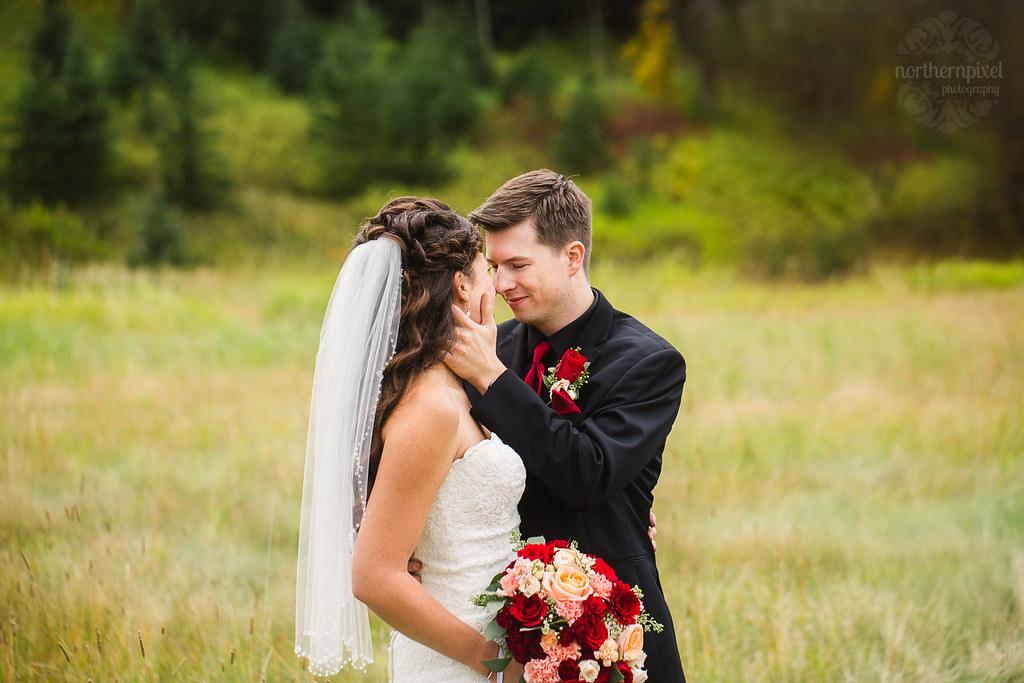 Wedding at Huble Homestead near Prince George BC