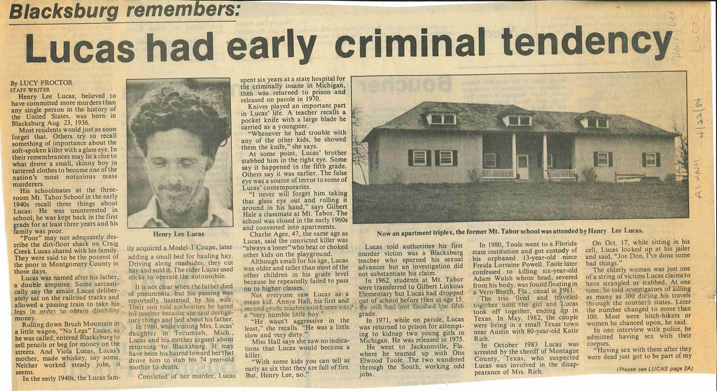 Newspaper clipping with the headline of