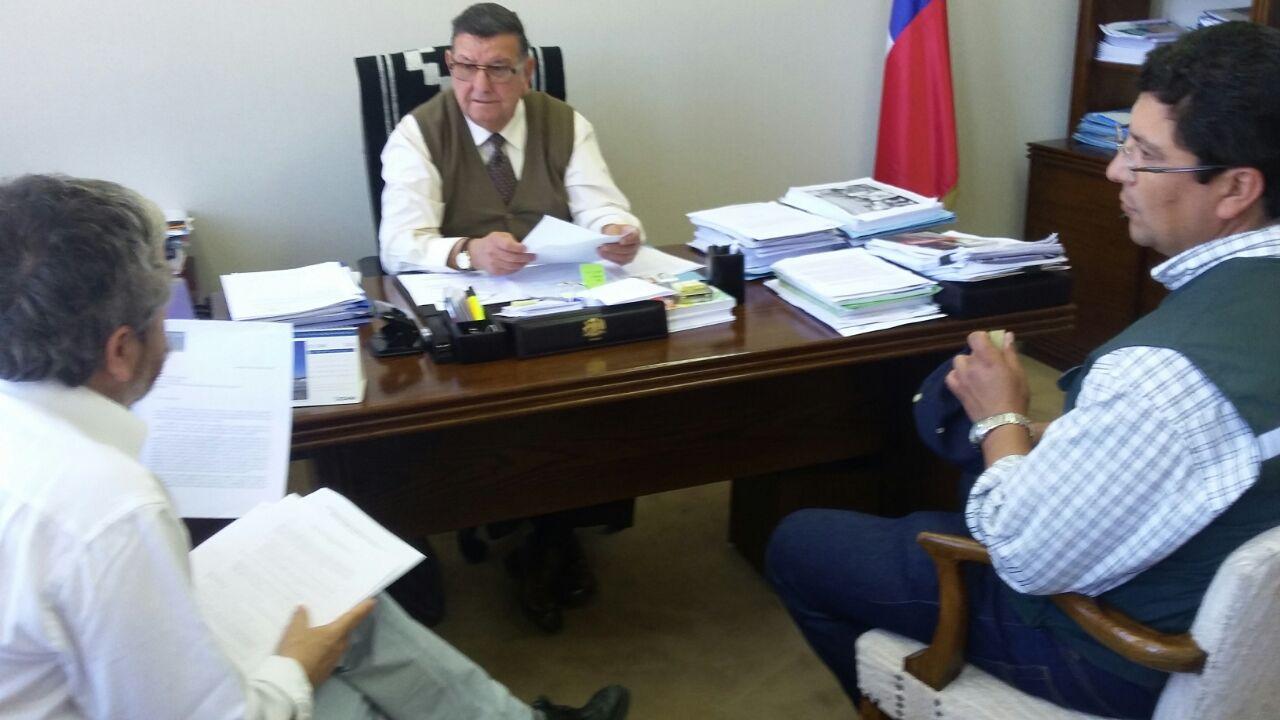 AFSAG se reúne con Senador Quinteros por conflictos en el SAG - 02 Noviembre 2016