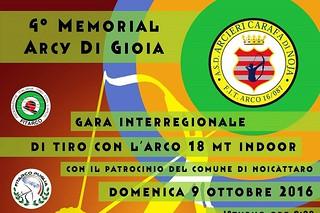 Noicattaro. Memorial Arcy Di Gioia front