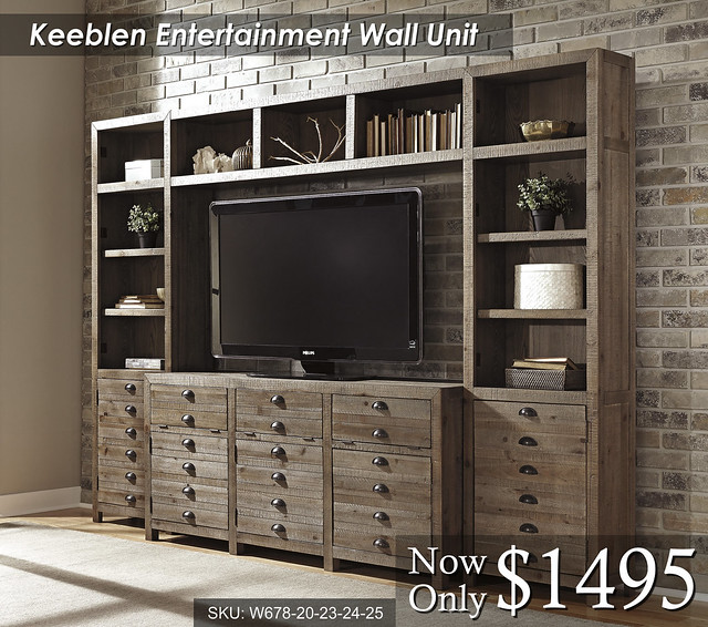 Keeblen Wall Unit - W678-20-23-24-25