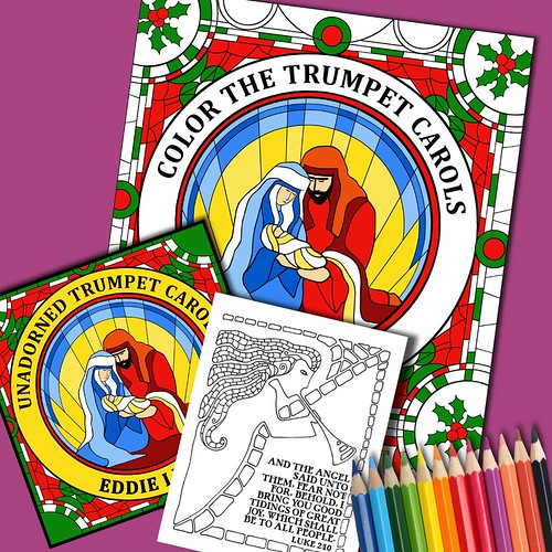 Color The Trumpet Carols