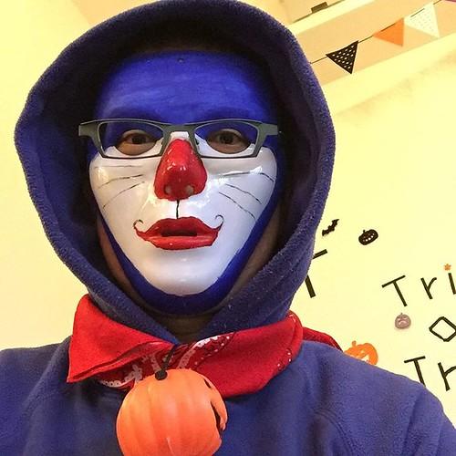 ハロウィンパーティーに来ました #ハロウィン