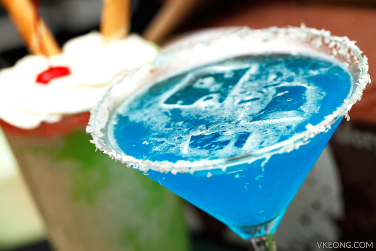 Morganfield's Jack Frost Martini