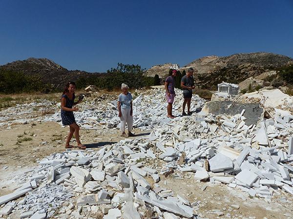 miettes de marbre