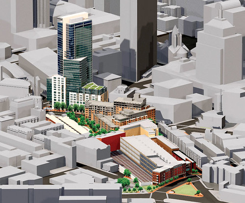 Columbus Center Original Plan