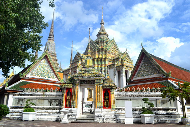 Amazing view of Wat Pho, BAngkok