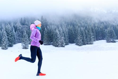 correr en frio