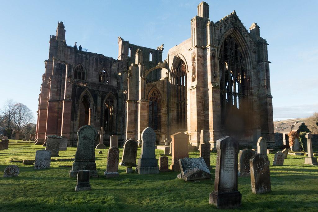 Melrose Abbey-03724