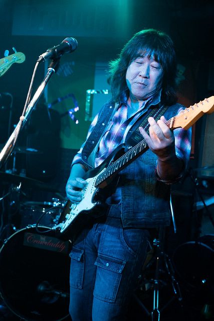 Rory Gallagher Tribute Festival - Little Wing live at Crawdaddy Club, Tokyo, 22 Oct 2016 -00068