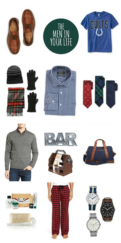 gift guide for the men in your life 2016 | Style On Target blog
