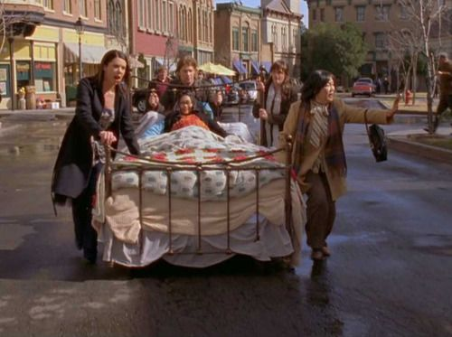 Gilmore Girls Bed