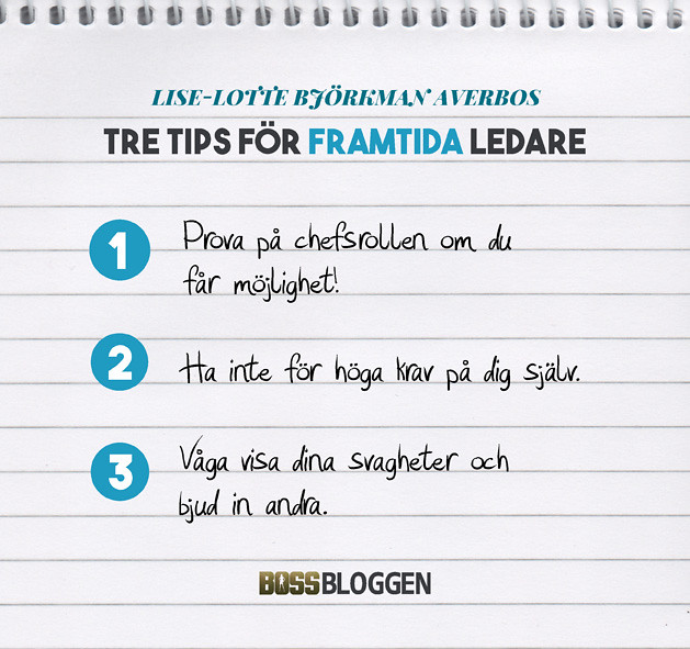 Tre Tips Lise-Lotte Björkman Averbo