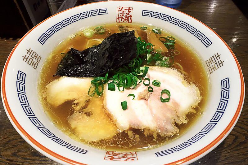 ラーメン博物館 支那そばや 絹腰和伊麺(醤油)