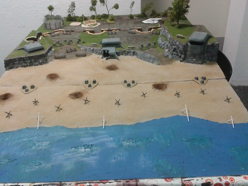 "Bolt Action Gametable ""D-Day"""