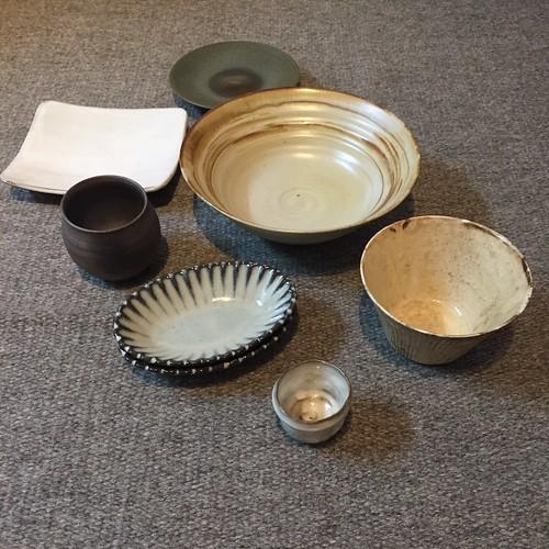 丹波焼陶器まつりで購入