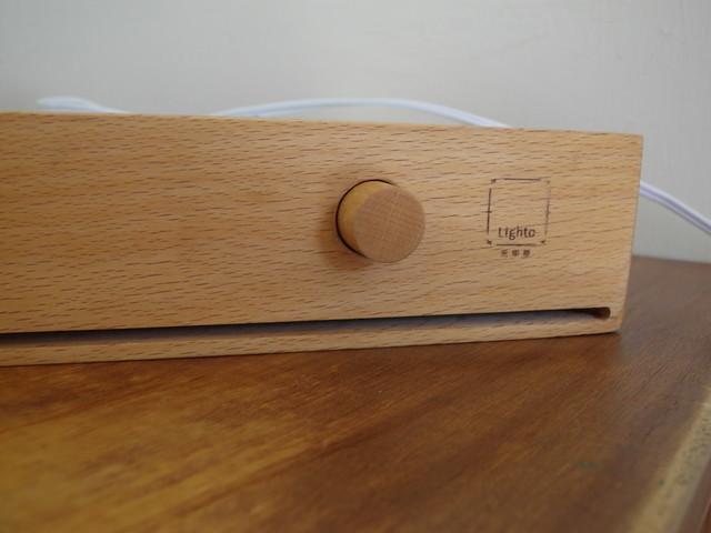 木質旋鈕與光印樣烙印@光印樣Lighto美好燈箱