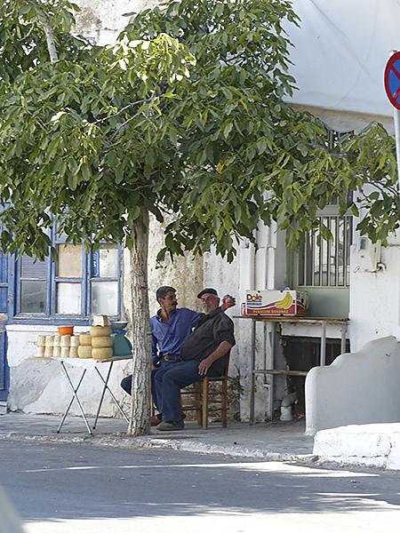 vendeurs de fromages