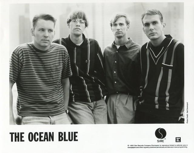 THE OCEAN BLUE 8x10 1993 Beneath the Rhythm and Sound