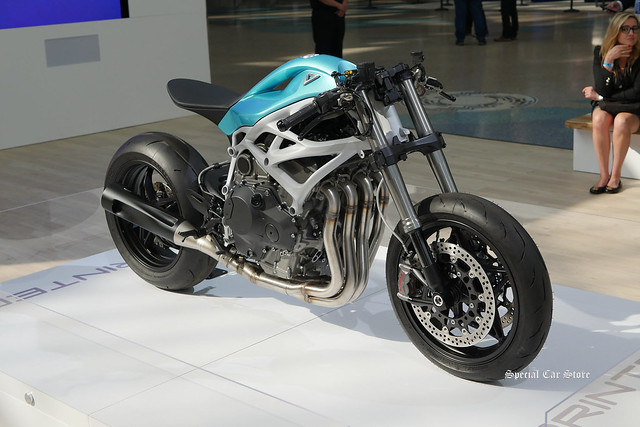 3D Printed Super Bike by Divergent 3D