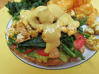 Vegan 'Eggs' Benedict