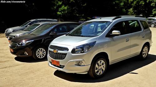 Chevrolet Spin y Cobalt - Lanzamiento en Chile