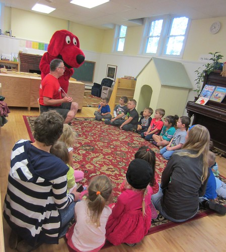 a visit from Clifford