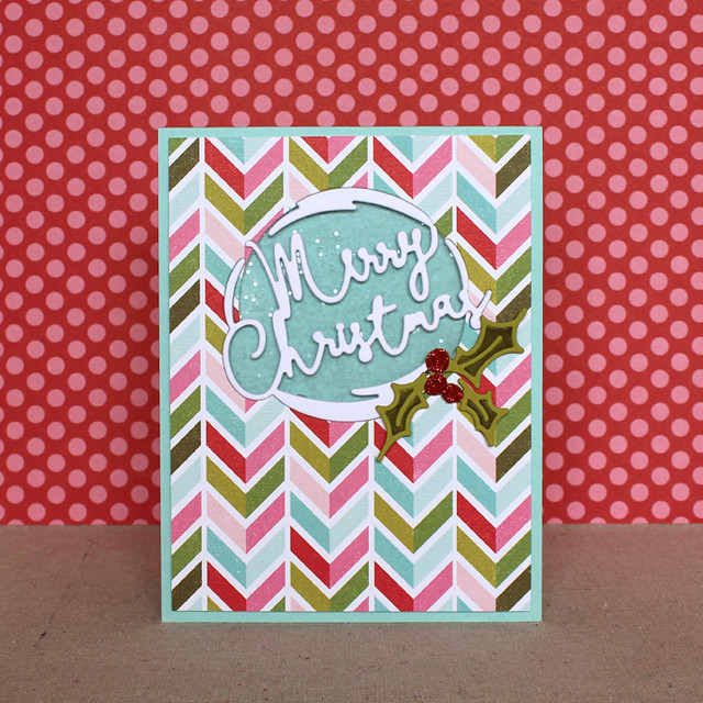 Merry Christmas Shaker Card