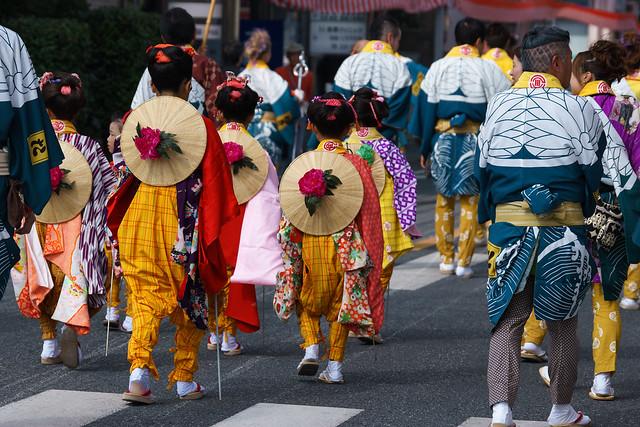 川越祭り 脇田町:山車 小さな引手