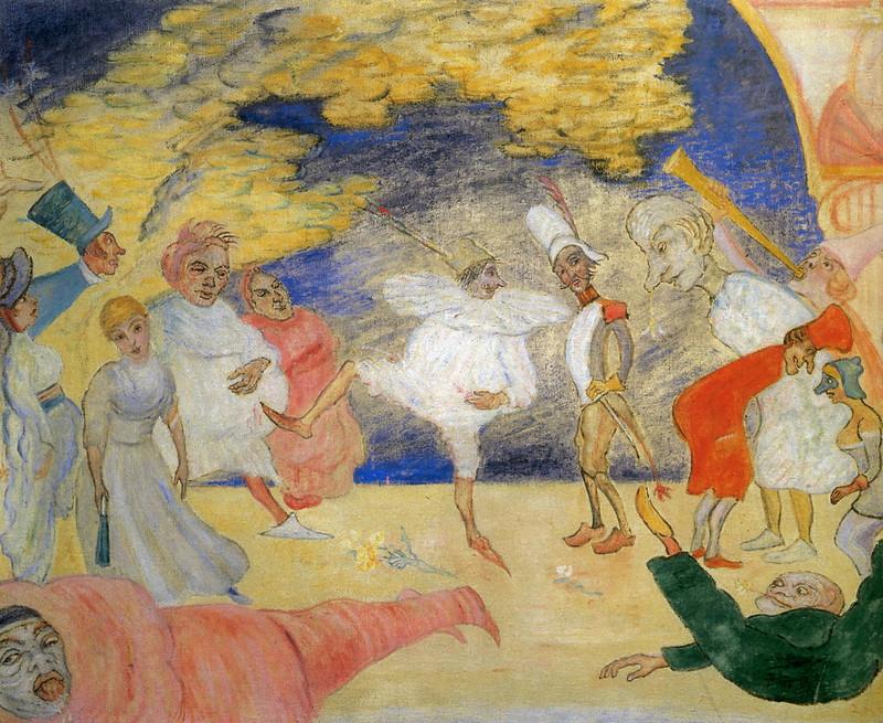 James Ensor - Fantastic Ballet, 1918