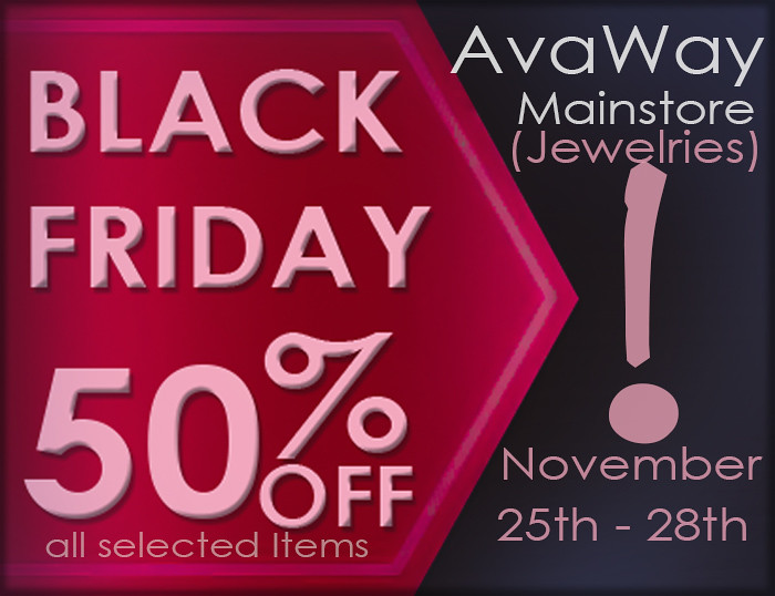 BLACK FRIDAY at AvaWay Store