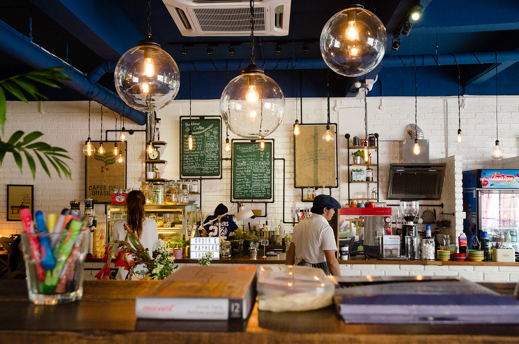 The friendly staff at Backlane Coffee Melaka.