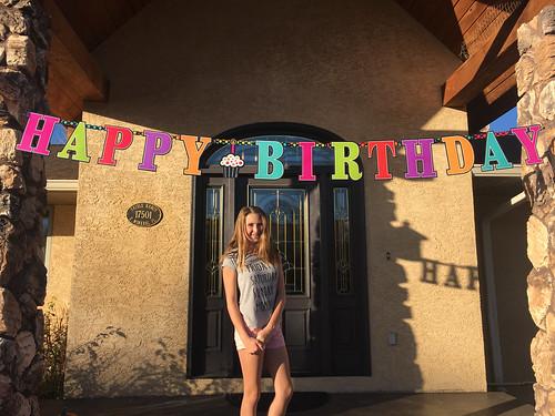 Happy 14th Abbie!