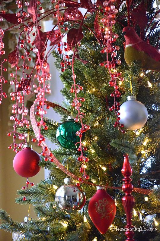Christmas Tree - Sunroom - Housepitality Designs