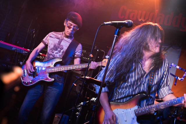 Rory Gallagher Tribute Festival - O.E. Gallagher live at Crawdaddy Club, Tokyo, 22 Oct 2016 -00207