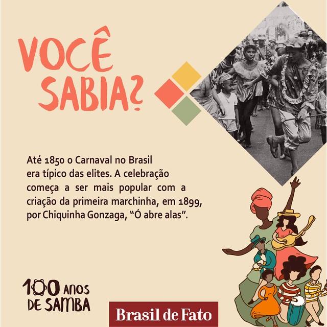 100 anos de samba | Curiosidades e história dos bambas