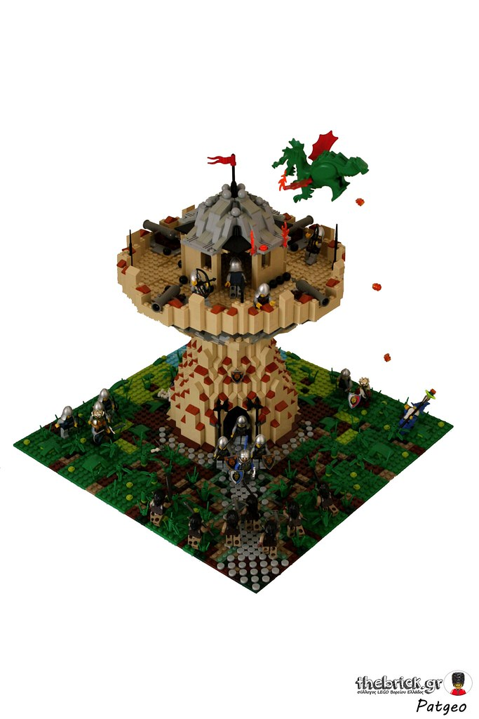 [MOC]: Defence Tower (Based on Warcraft) (Pic Heavy) 31052698695_42f46151ec_b