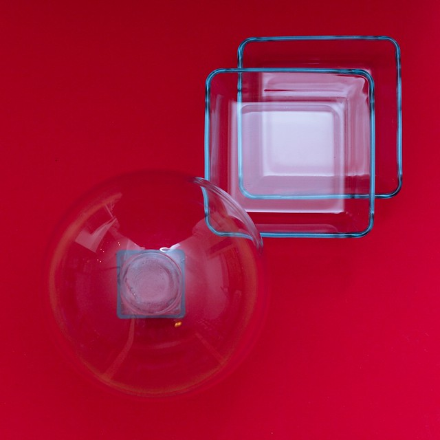 Squares and Spacetime distortion