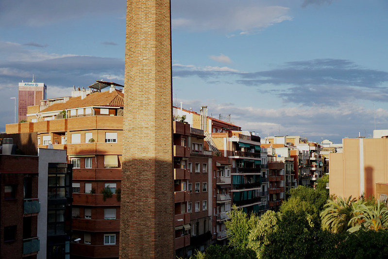 view in barcelona.