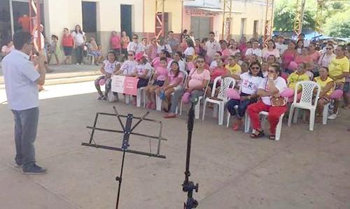 Secretaria de Saúde de Pires Ferreira promove Outubro Rosa