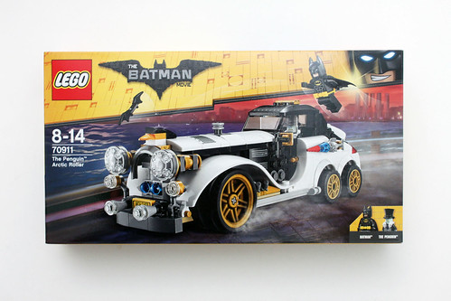 The Lego Batman Movie The Penguin Arctic Roller 70911 Review The Brick Fan