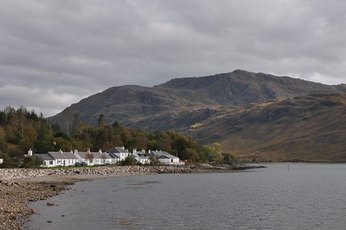 Beinn Bhuidhe and Inverie from pier