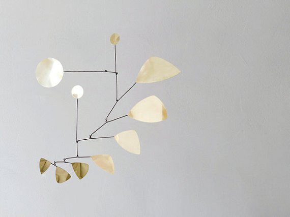 AMM blog | handmade brass mobile