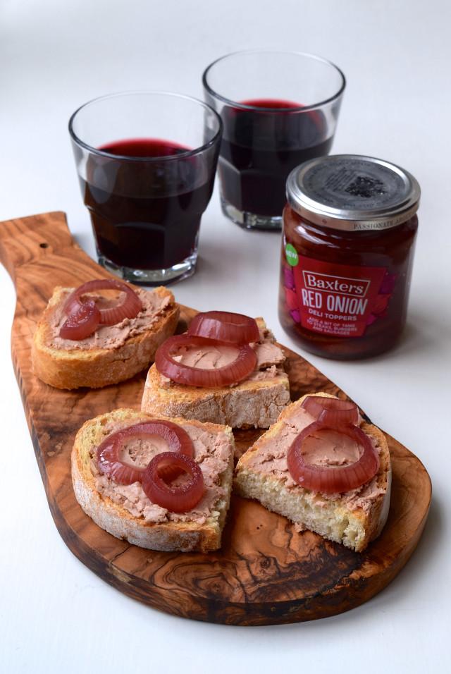 Pate Pickle Toasts | www.rachelphipps.com @rachelphipps