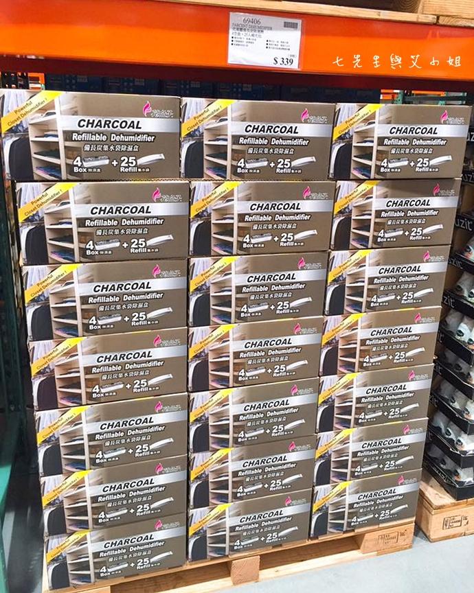 12 Costco 好市多必買物 購物清單 克潮靈備長炭除濕盒