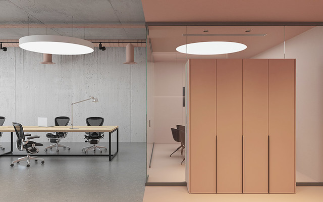 Pink office design in Ukraine by Emil Dervish Sundeno_08