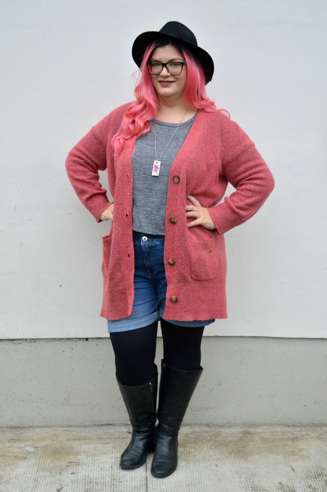 Plus size hipster outfit (2)