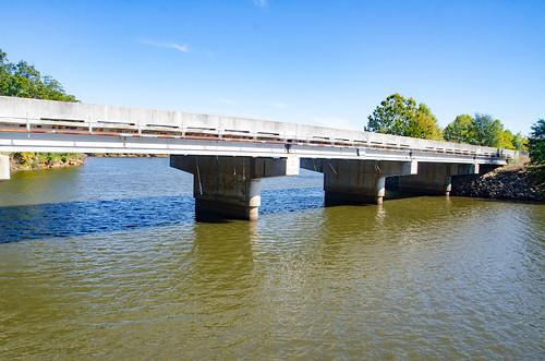 Highway 71 Bridge over Lake Russell